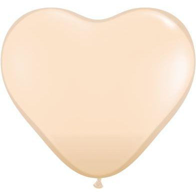 "Qualatex 6"" Blush Heart Latex X5"