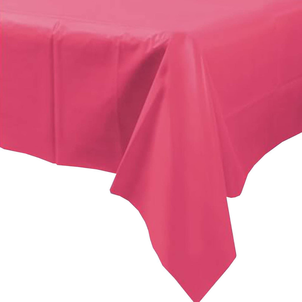 Hot Pink Tablecover- - sell off