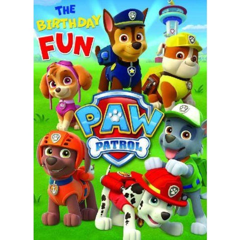 Danilo Paw Patrol Birthday Fun Card