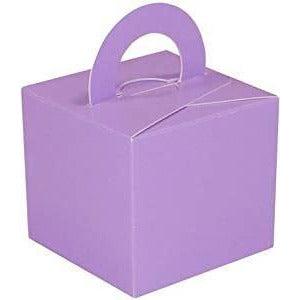 20 Cake Box Balloon Weights Lavender