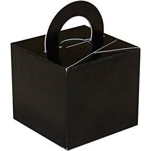 20 Cake Box Balloon Weights Black