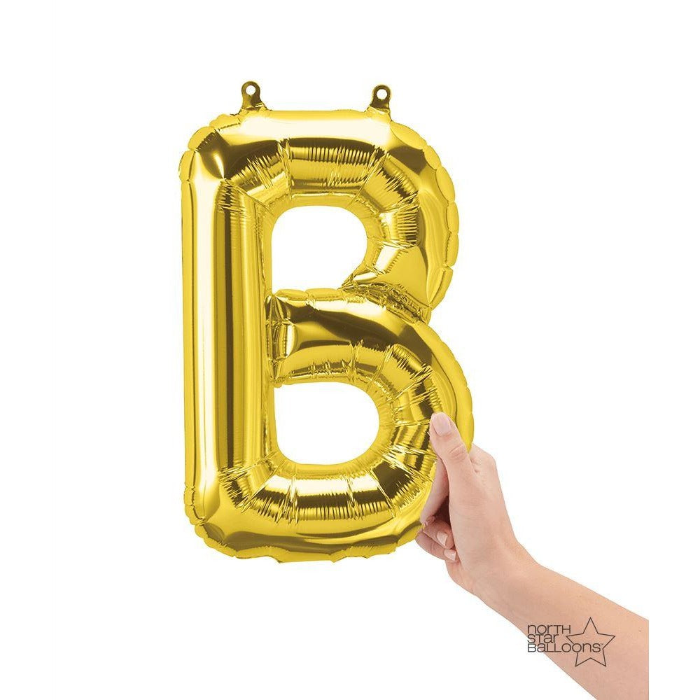 North Star Gold Letter B 16""
