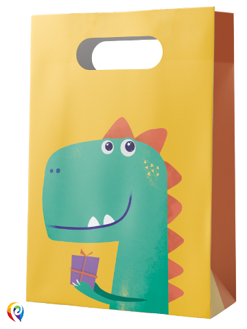 Dinosaur Roar Party Bags x 4