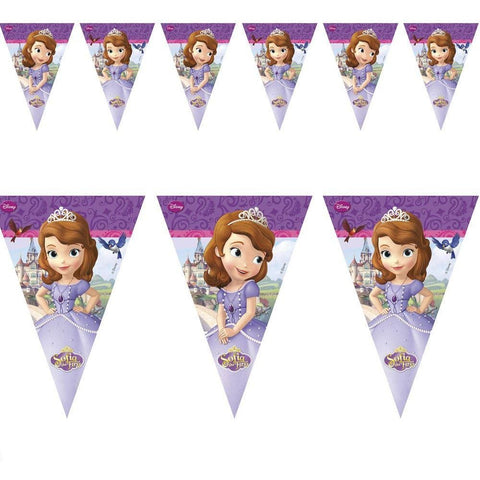 BANNER - TRIANGLE FLAG (9),  SOFIA THE FIRST
