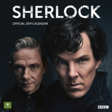2019 Official Calendar Square Sherlock
