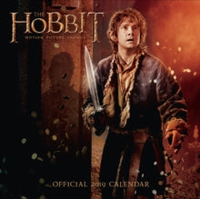 2019 Official Calendar Square The Hobbit