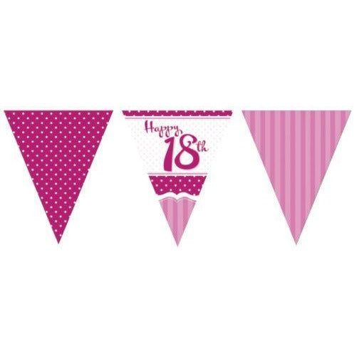 Perfectly Pink Bunting 18th
