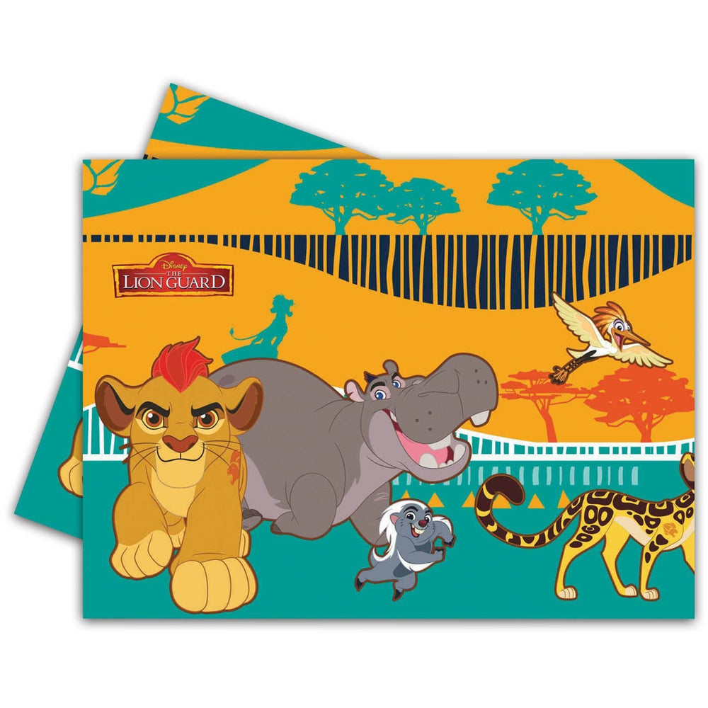 PARTY TABLE COVER 1CT LION GUARD