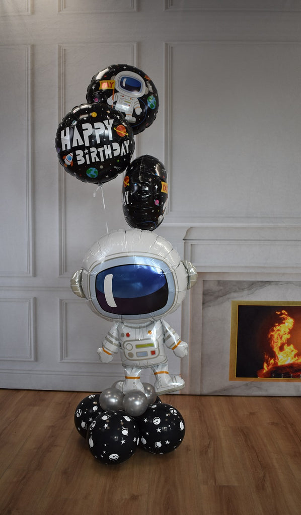 Inflated Space Astronaut Balloon Display (Collection Only)