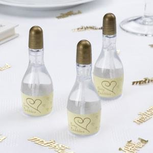 Bubbles - 24 Ivory & Gold Hearts