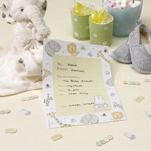 Baby Miffy - Invitations - 10