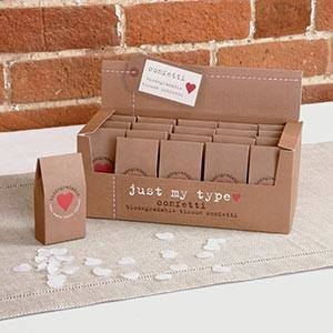 Just My Type - Tissue Confetti - Outer Box - 20