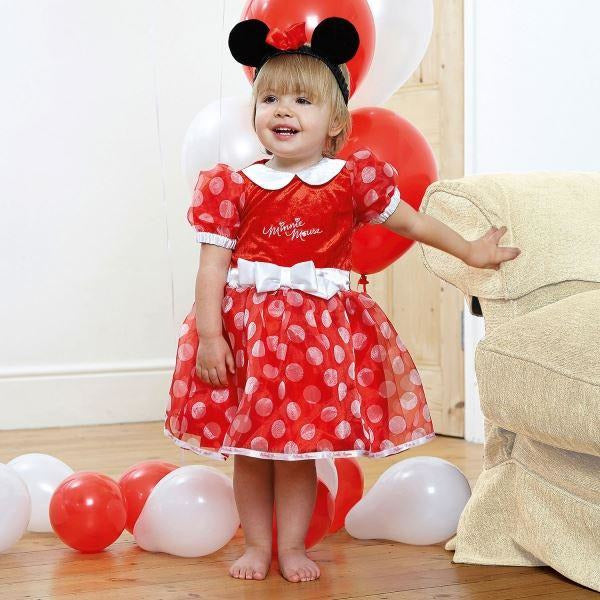 Minnie Red Dress 3-6 Months