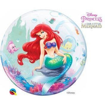 "22""  SINGLE BUBBLE        01CT,  DN THE LITTLE MERMAID"