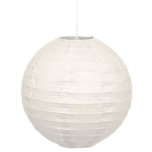 "1 White Lantern 10""  (Also Upstairs)"