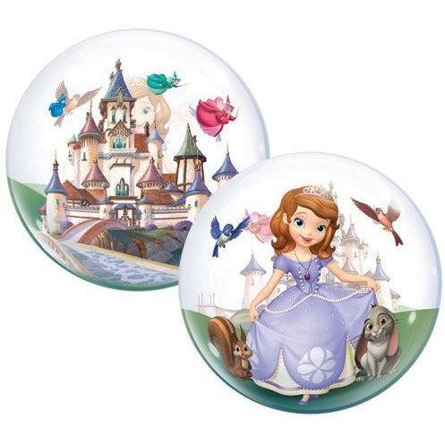 "22""  SINGLE BUBBLE        01CT,  DN SOFIA THE FIRST"