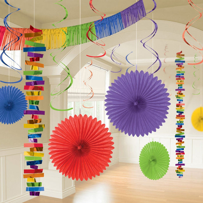 Rainbow Room Decoration Kit