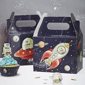 Space Adventure Party Boxes (Ginger Ray)- end of line (CLR:2)