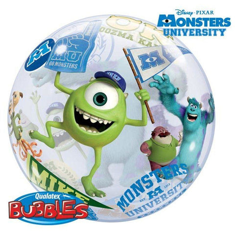 "22""  SINGLE BUBBLE        01CT,  DNPX MONSTERS UNIVERSITY"