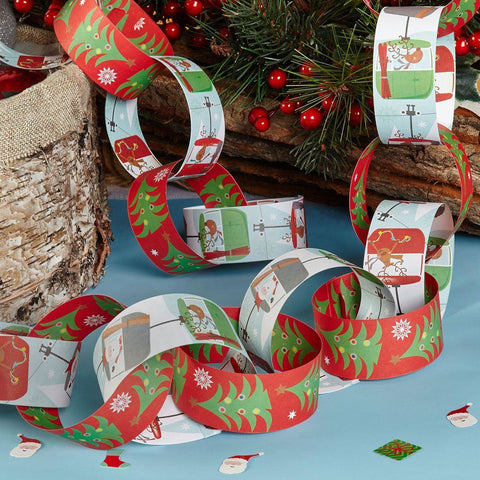 festive fun paper chains - House Of Party