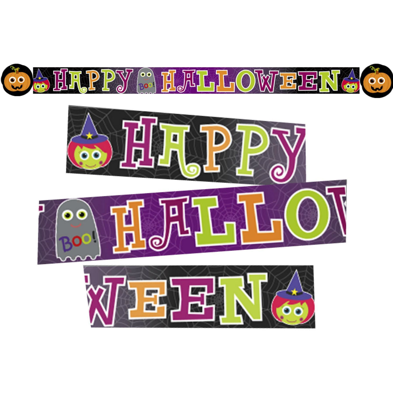 Halloween Cutie Jointed Banner