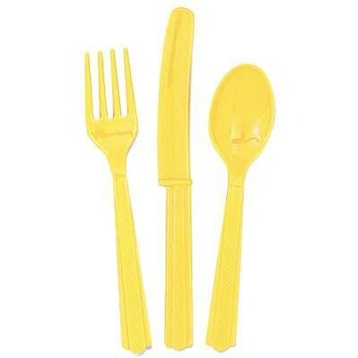 Soft Yellow Cutlery Set