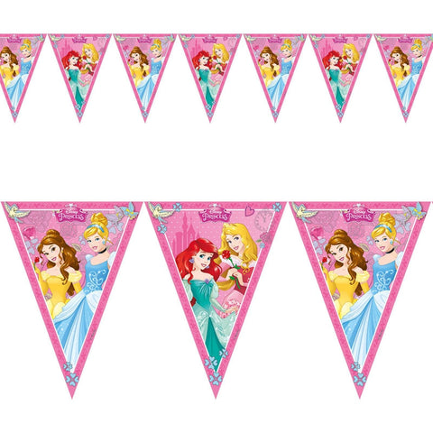 BANNER - TRIANGLE FLAG (9),  DISNEY PRINCESS