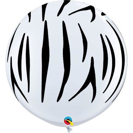 3FT  RND  WHITE           02CT ZEBRA STRIPES-A-RND