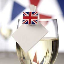 Celebrate Britain Mini Wooden Flag Pegs