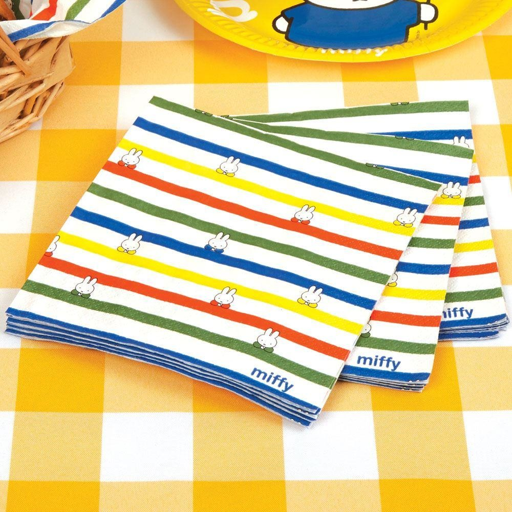 Miffy Birthday Napkins - 16 pack