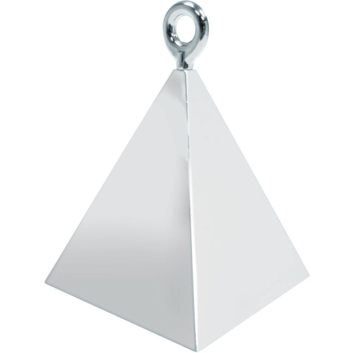 PYRAMID WEIGHTS x1 (SINGLE) SILVER