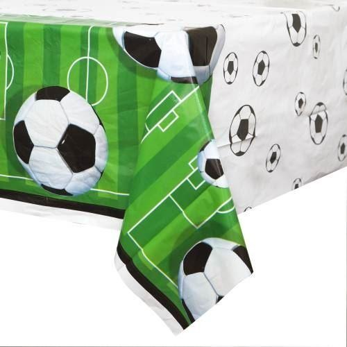 3D Soccer Plastic Tablecover (Also Upstairs)