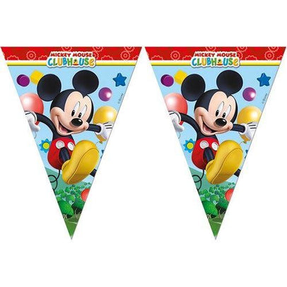 Mickey Mouse Clubhouse Flag Banner