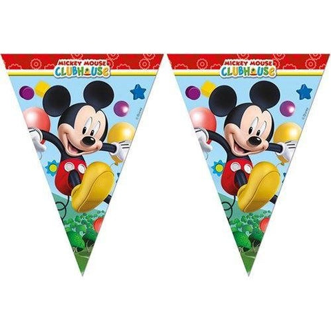 BANNER - TRIANGLE FLAG (9),  PLAYFUL MICKEY