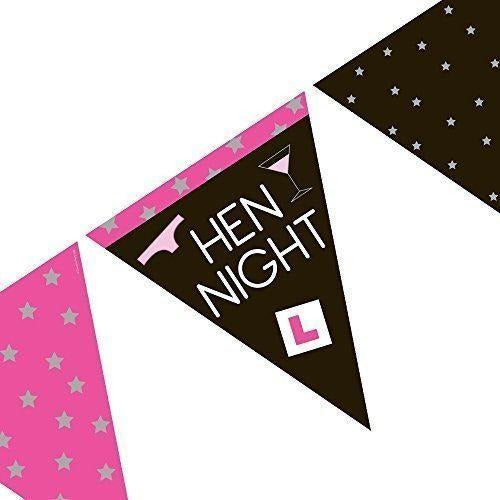 Hen Night Triangle Bunting-sell off
