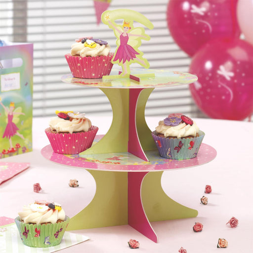 Fairy Princess Cake Stand- end of line-no further stock. April 2018 (CLR:5)