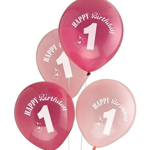 Little Bird Birthday Balloons - END OF LINE April 2018 (CLR:3)