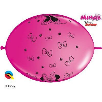 "12"" QLINK SPECIAL AST     50CT DN MINNIE MOUSE"