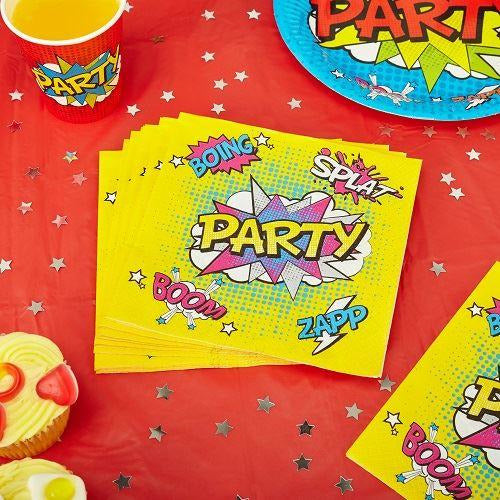 WOW Party Napkins