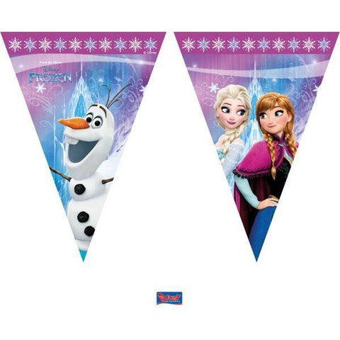 BANNER - TRIANGLE FLAG (9),  DISNEY FROZEN