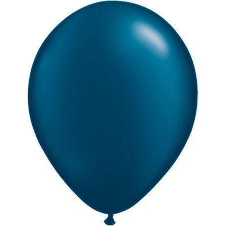 "05""  RND  PRL MIDNT BLU  x10  QUALATEX PLAIN LATEX"