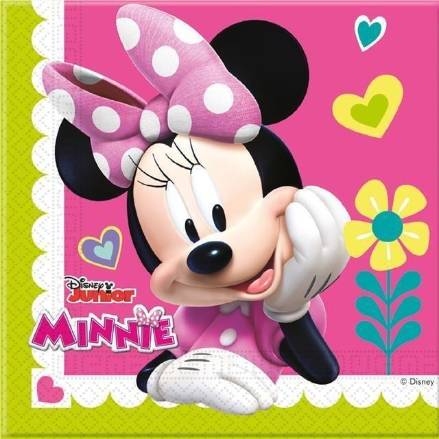 NAPKINS PAPER TWO-PLY 20CT DISNEY MINNIE MOUSE