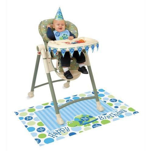 First Birthday Turtle High Chair Kit