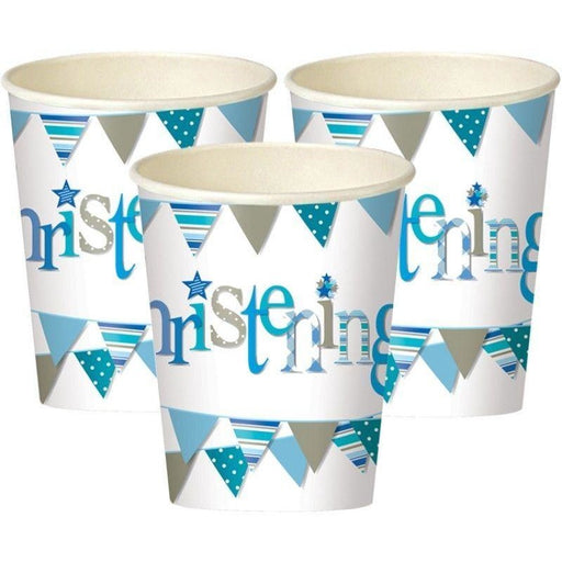 Unique boy christening cups