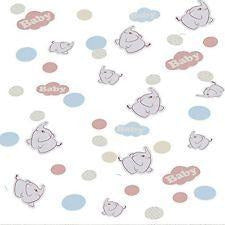 Cute Baby Elephant Confetti - end of line April 2018