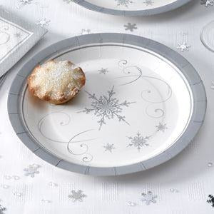Shimmering Snowflake - Plates - 8