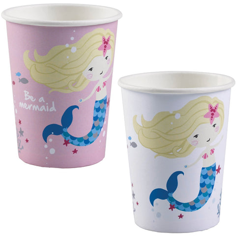 Be a Mermaid Assorted Paper Cups