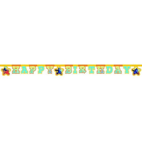 BANNER 1CT - HAPPY BIRTHDAY,  FINDING DORY