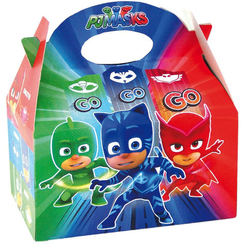 1 PJ Masks Cardboard Lunch Boxes - Henbrandt