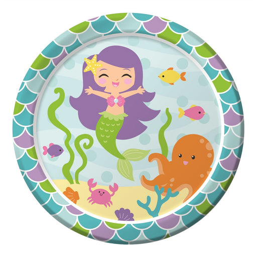 Mermaid Friends Dinner Plates Sturdy Style